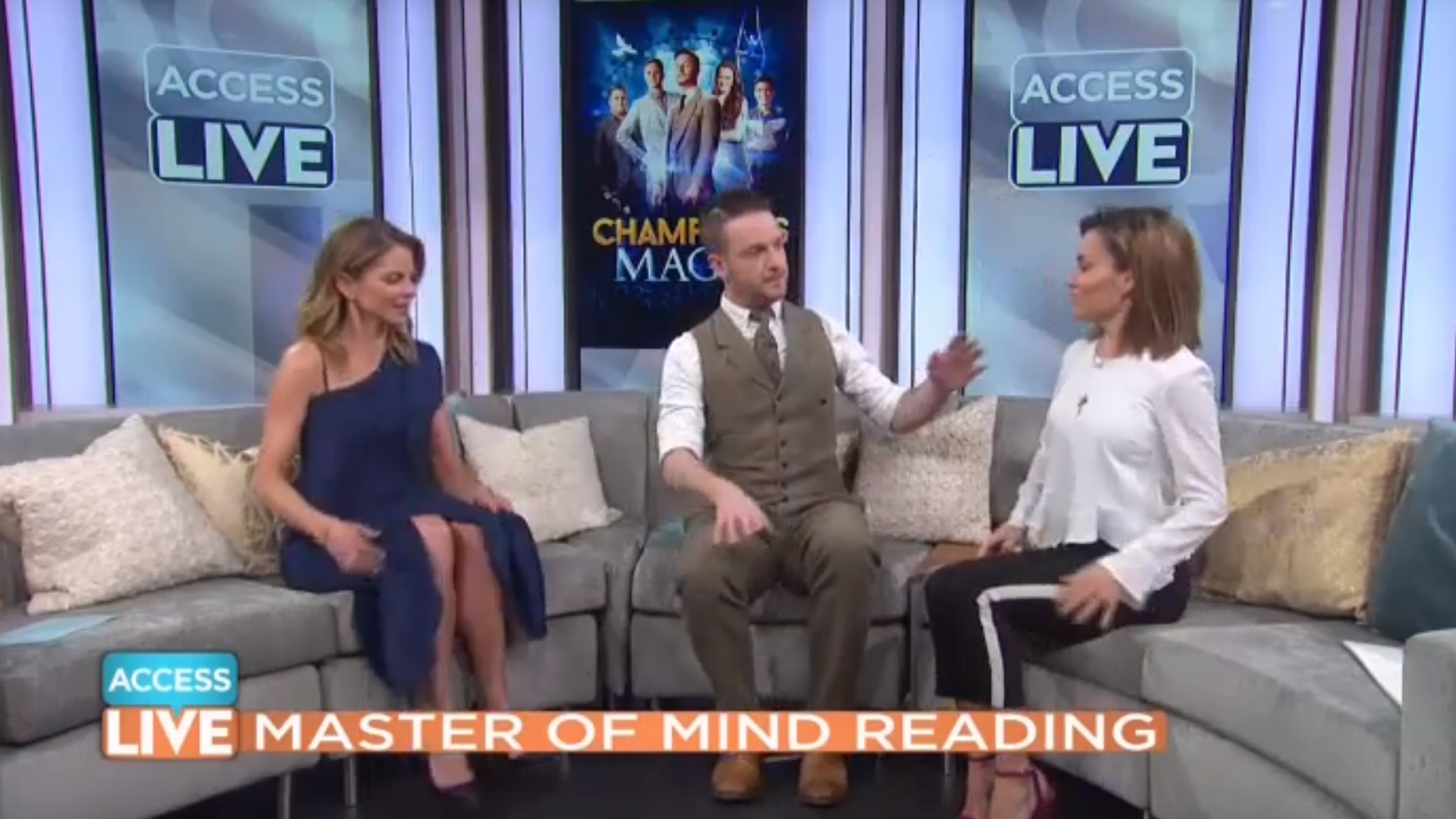 Video: Alex McAleer on Access Hollywood Live
