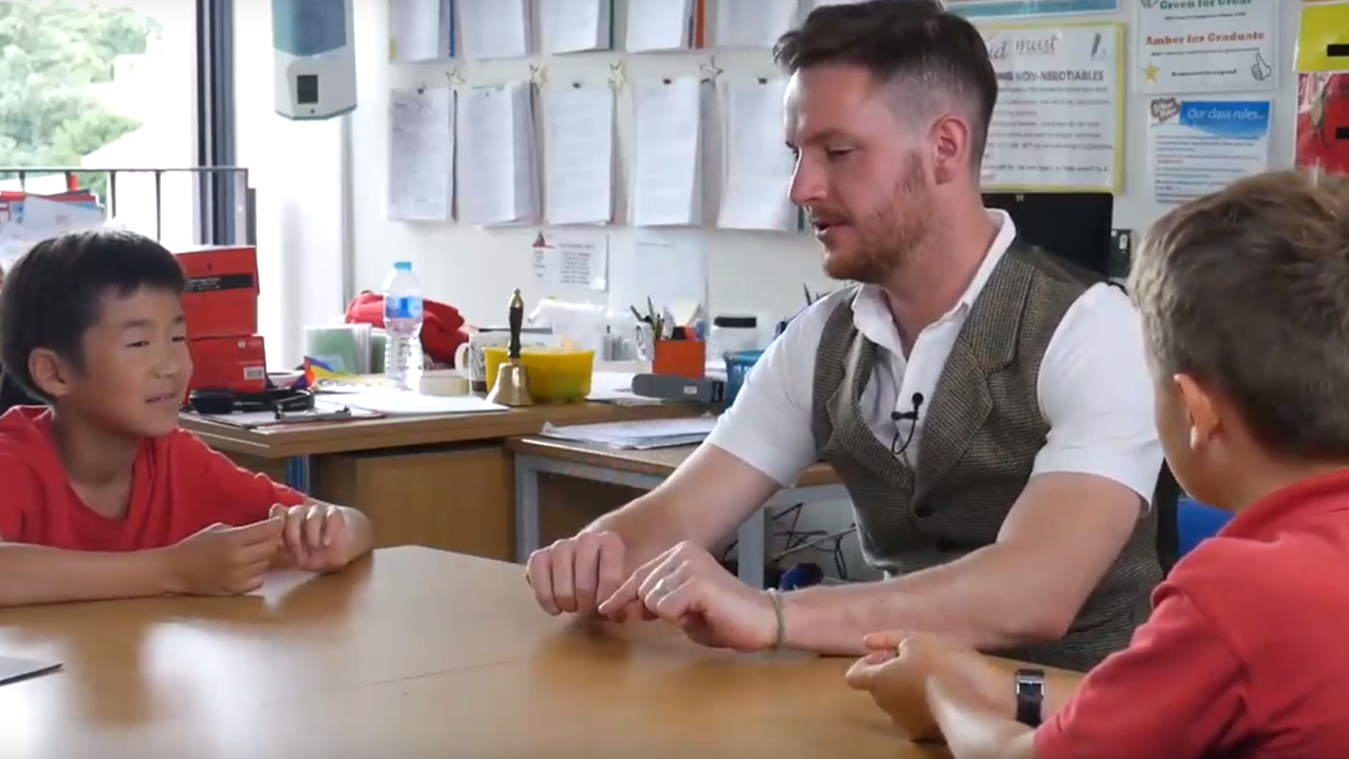 Video: Alex McAleer Teaching Kids How To Read Minds