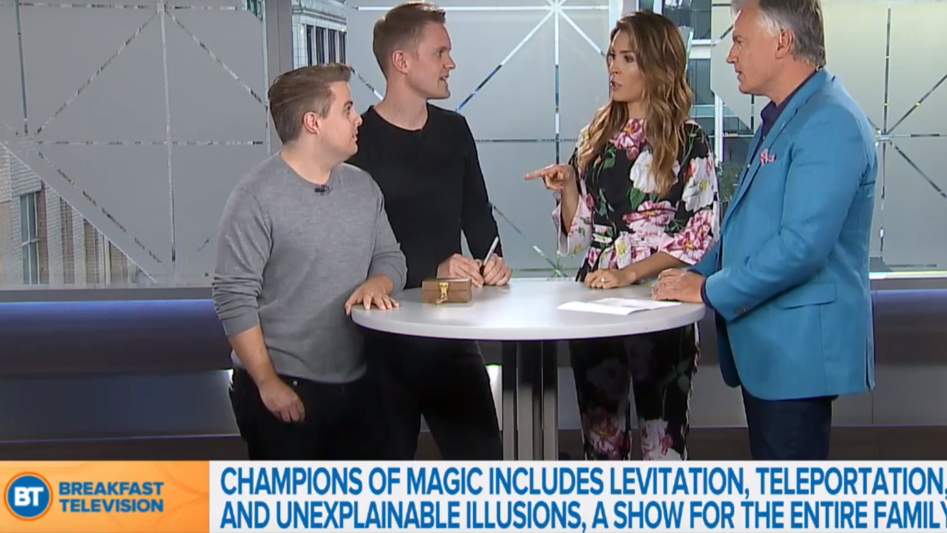 Video: Young & Strange on Breakfast TV Toronto